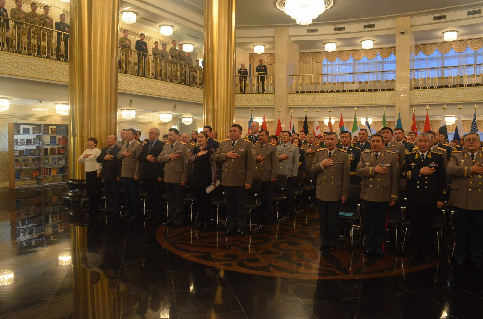 Independence Day festive event held at National University of Defense