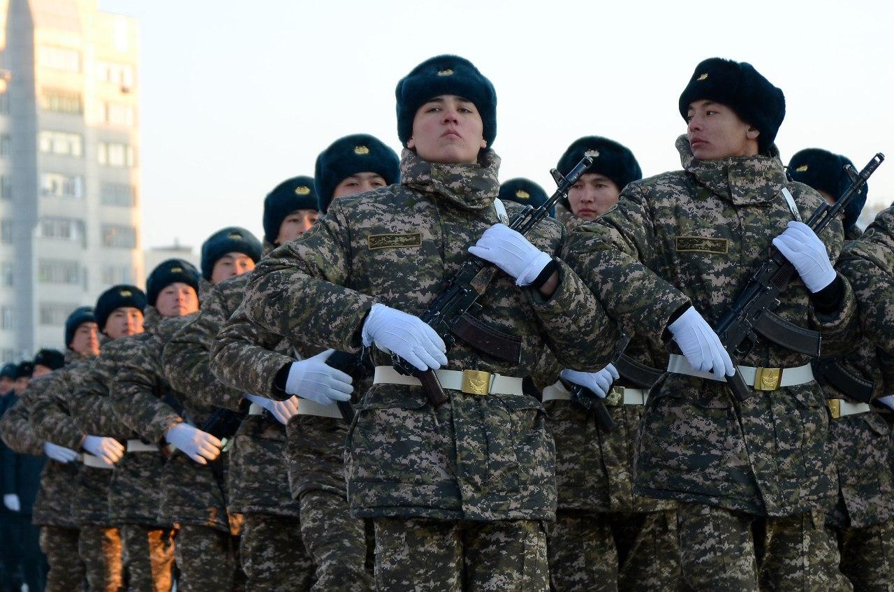 Военнослужащие срочной службы приняли присягу