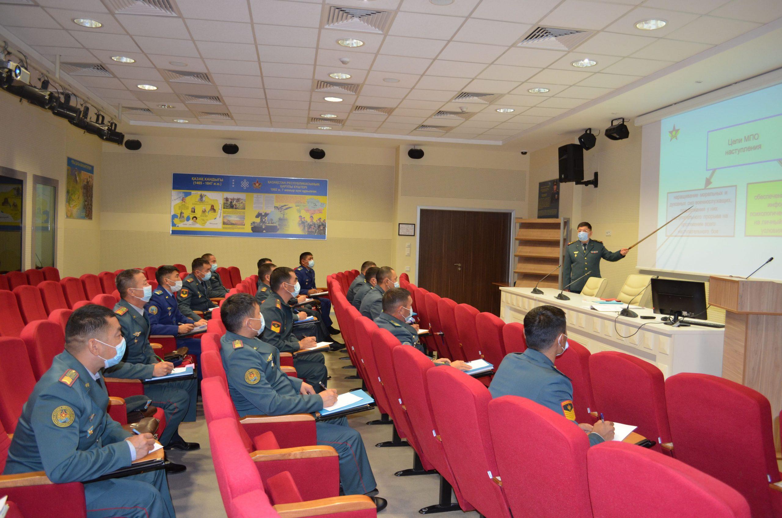 Для сержантов бригад организованы курсы повышения квалификации