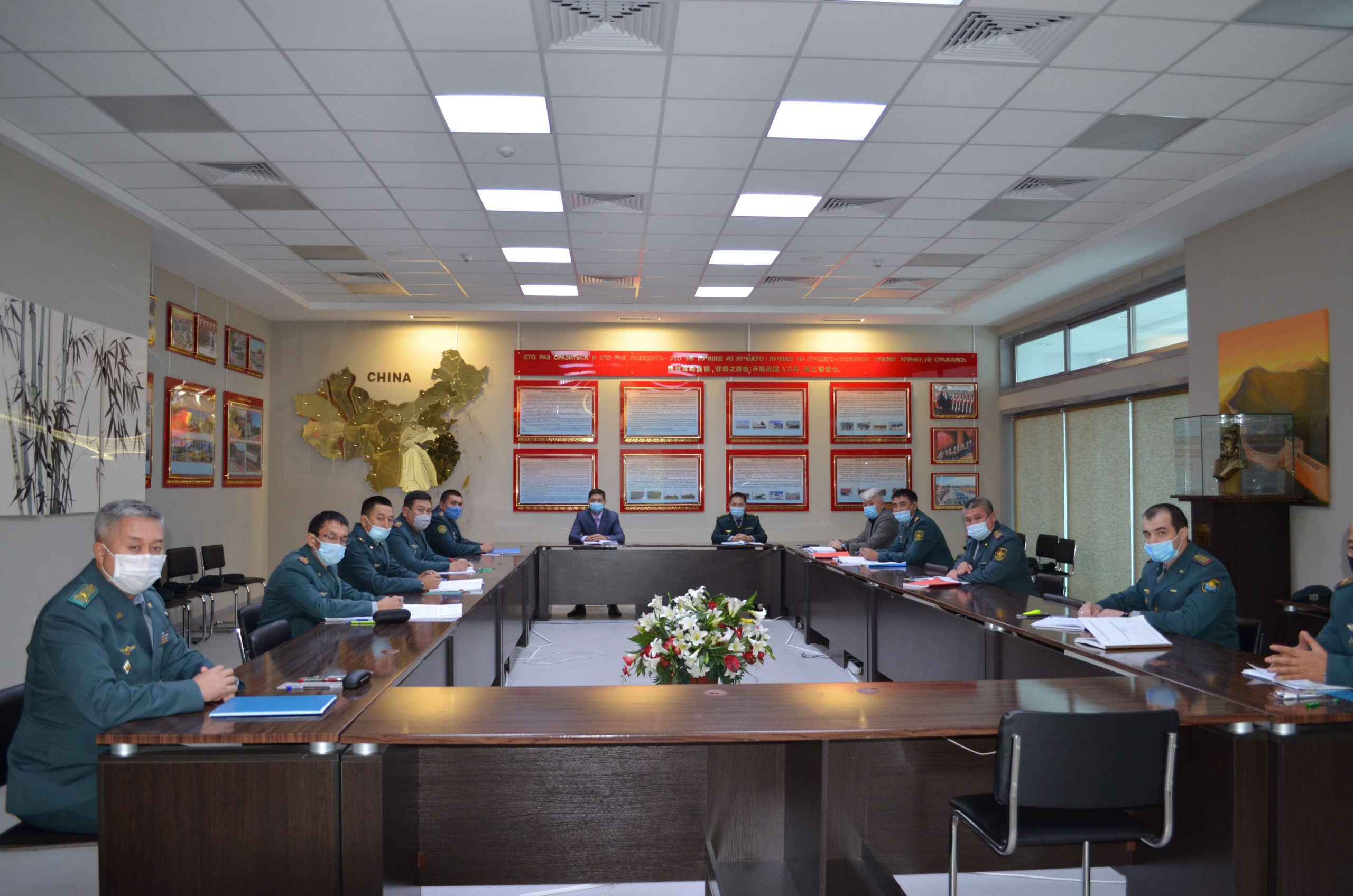 Курсовая подготовка с офицерами мобилизационных органов