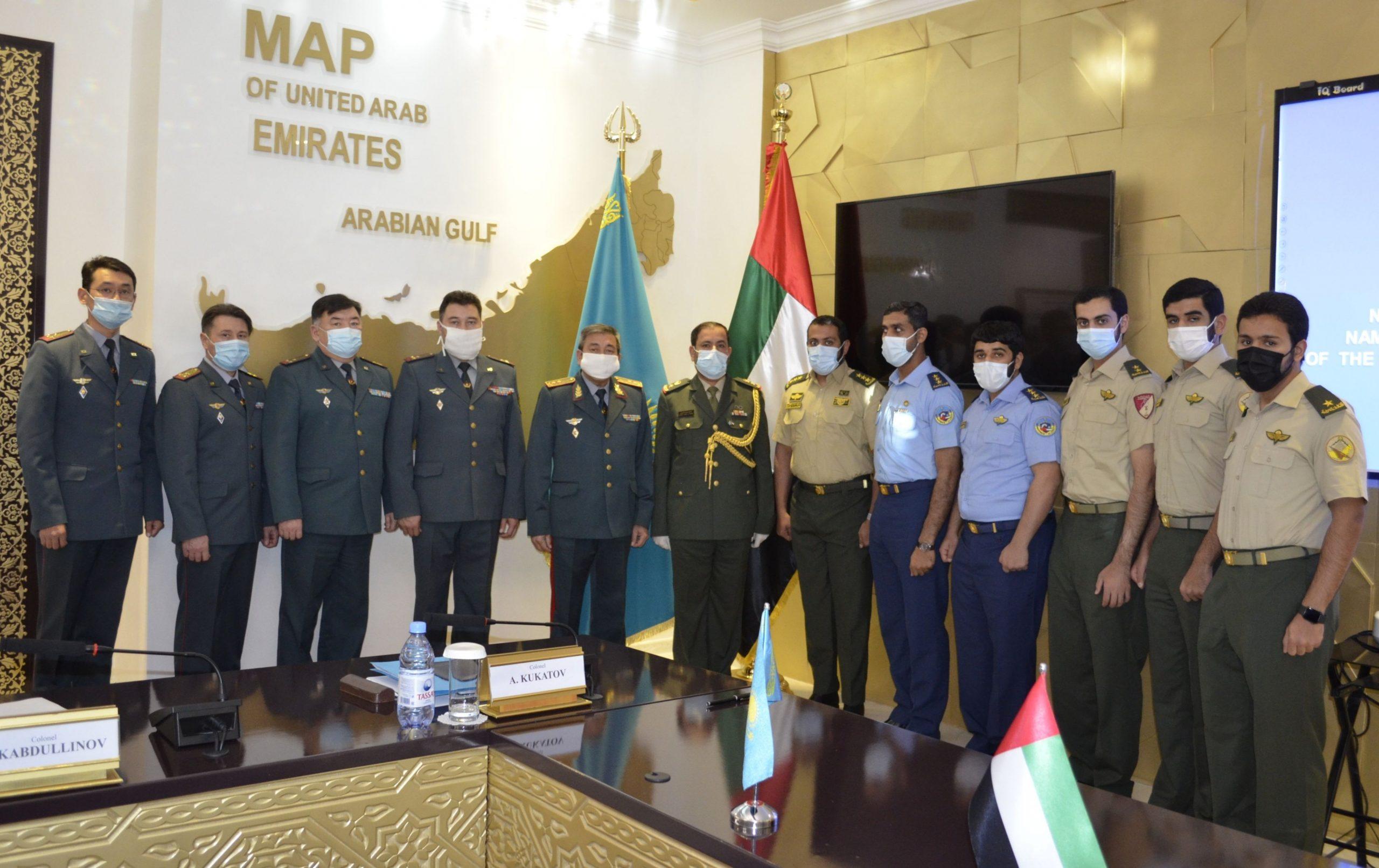 Языковые курсы для военнослужащих ОАЭ в Казахстане