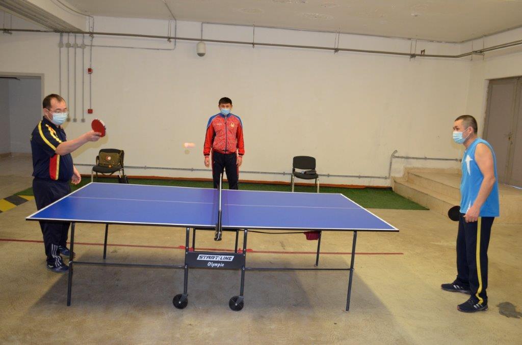 «Тұңғыш Президенті» күніне орай Ұлттық қорғаныс университетінің үстел теннисі бойынша біріншілігі