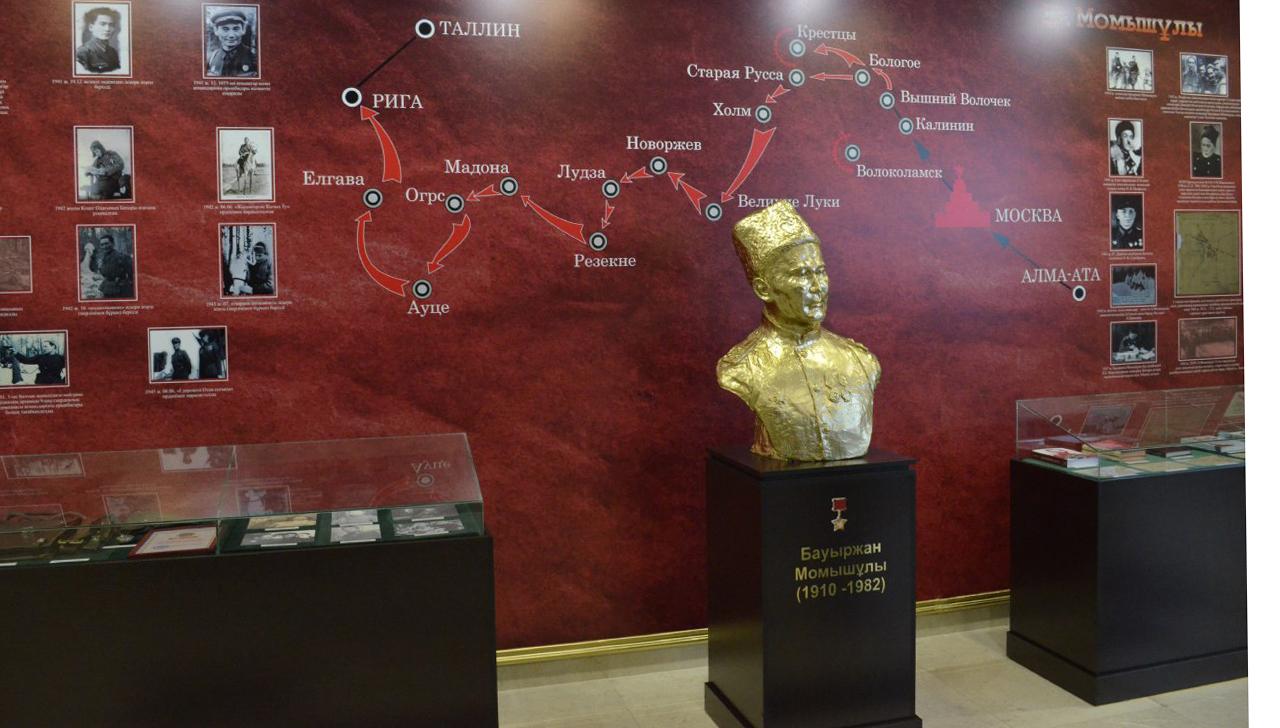 Факультету военного вуза присвоено имя Бауыржана Момышулы