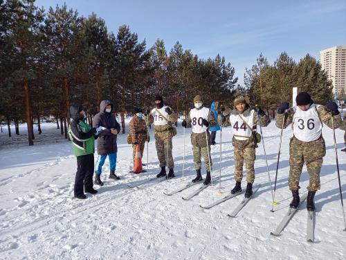 Победители лыжной эстафеты