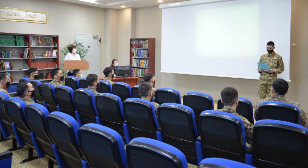 В Национальном университете обороны прошел вечер памяти Кажимукана Мунайтпасова