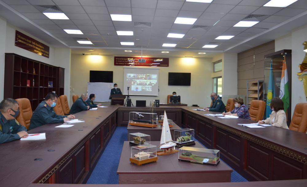 Қазақстанның әскери оқу орындарының оқытушылары біліктіліктерін арттыруда