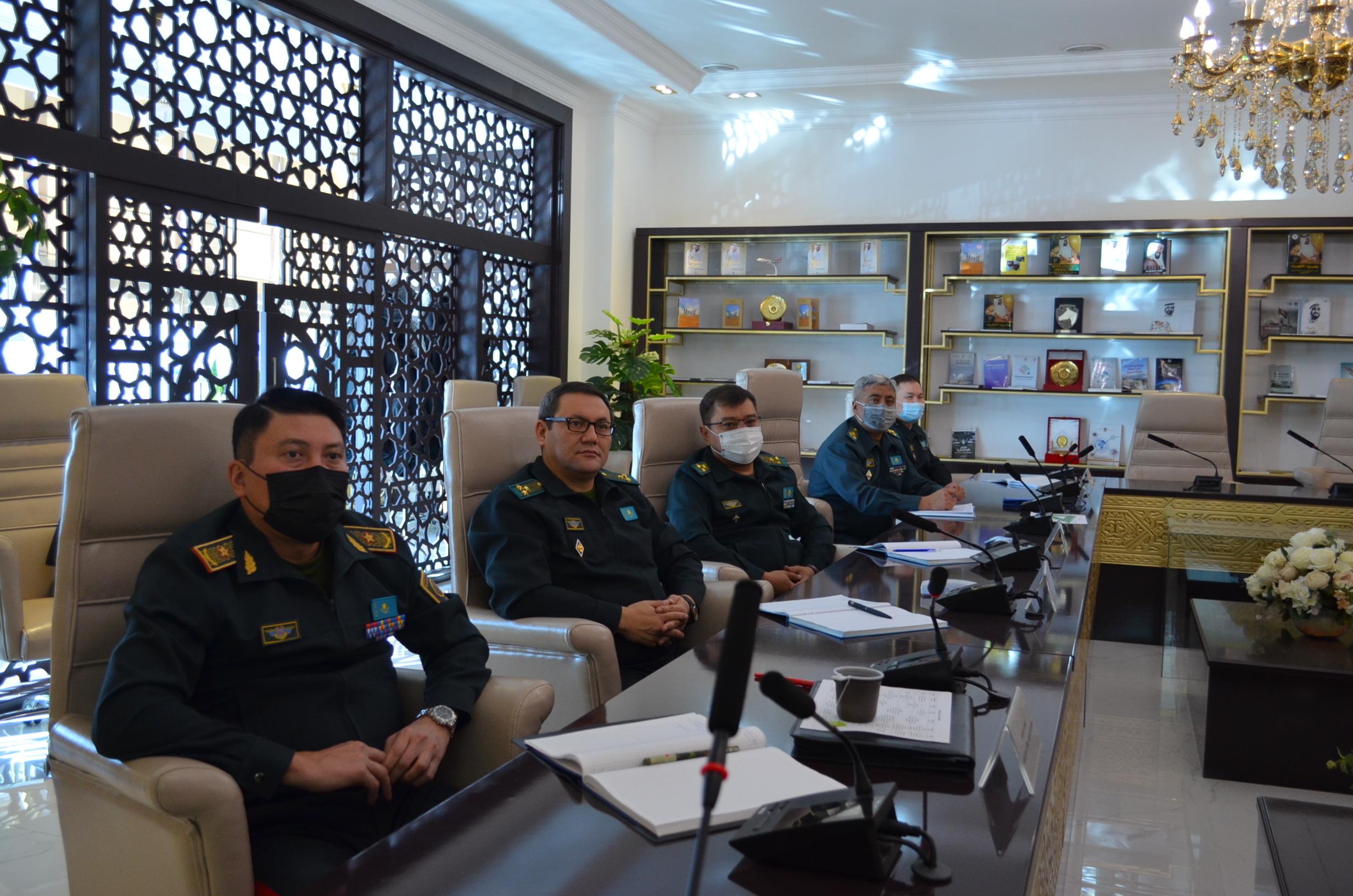 В Национальном университете обороны организованы курсы для руководства Пограничной службы