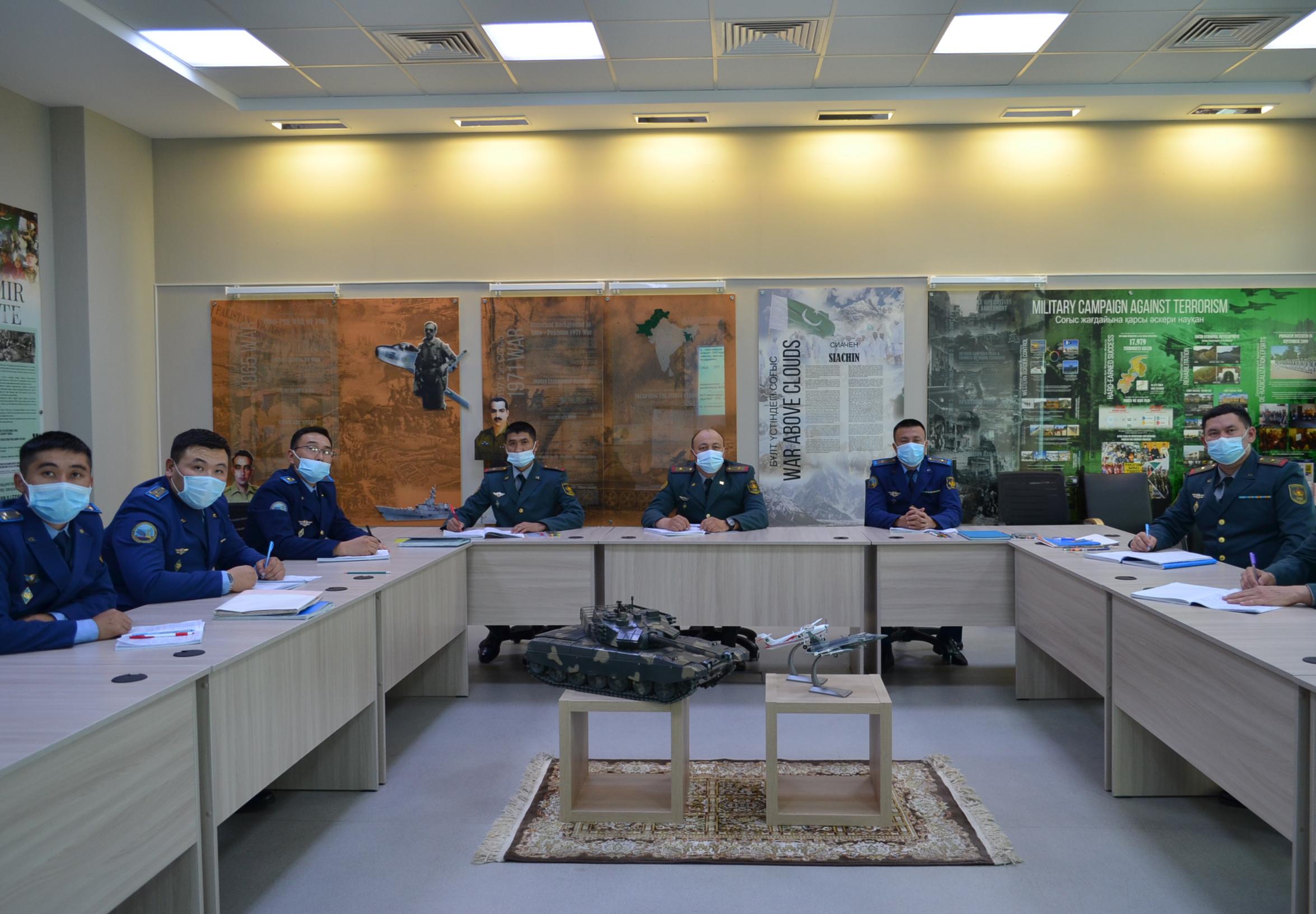 Офицеры войск РХБ защиты повышают квалификацию